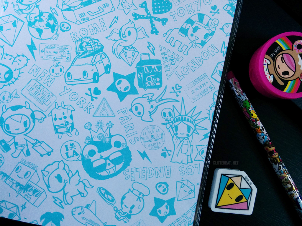 tokidoki Notebook Inner