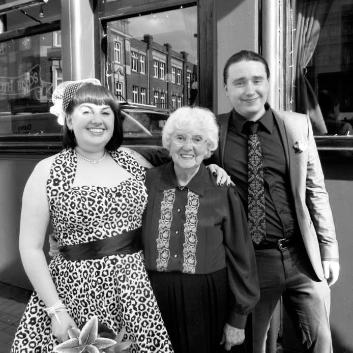 Me, Nan & Dan - Wedding Reception