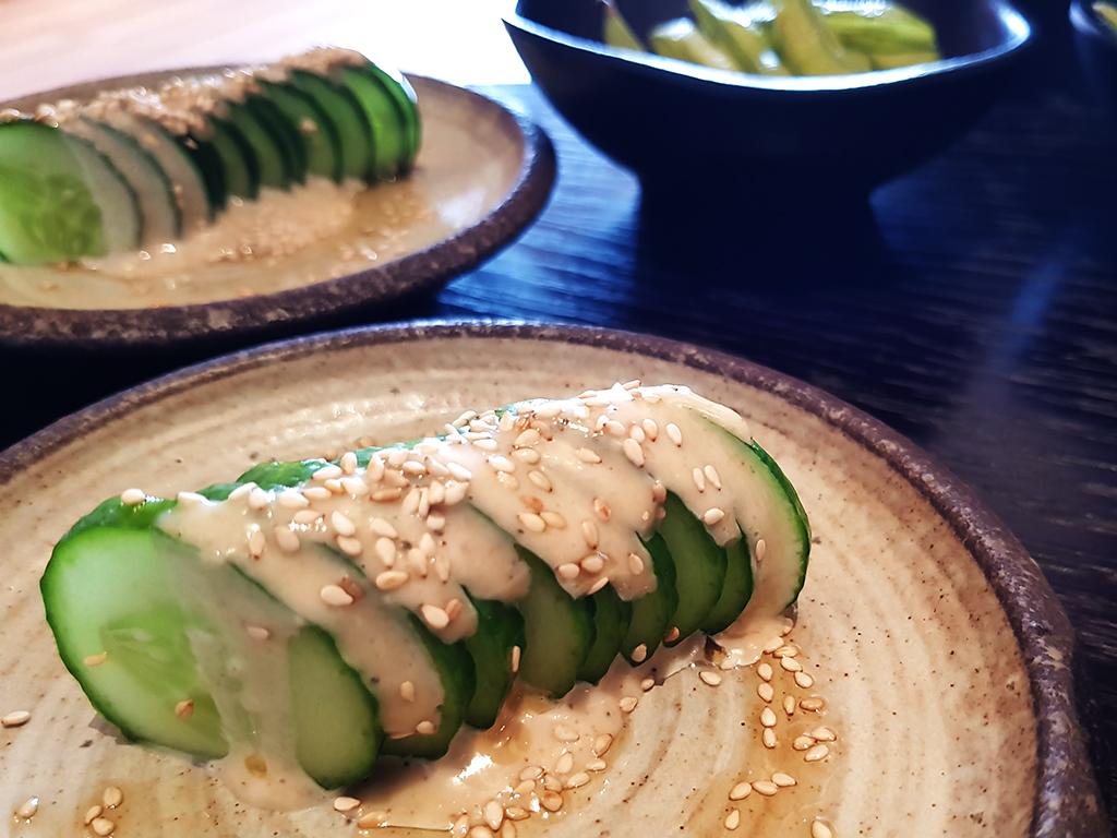 Issho Leeds - Cucumber Sesame