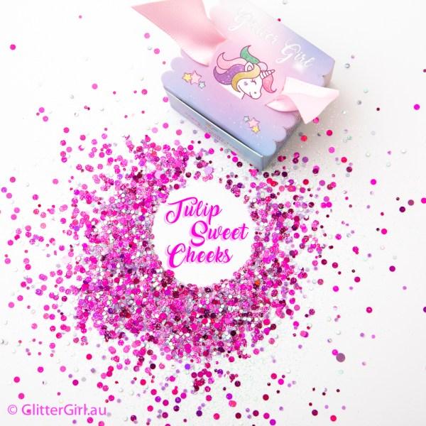 Tulip Sweet Cheeks glitter