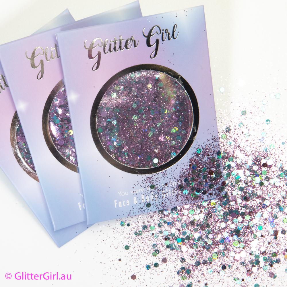 Smurfette Glitter Girl Glitter
