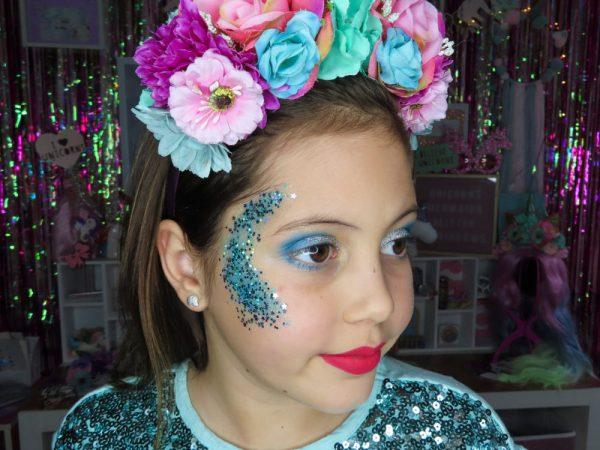 Kilmore Arctics Cheerleading makeup