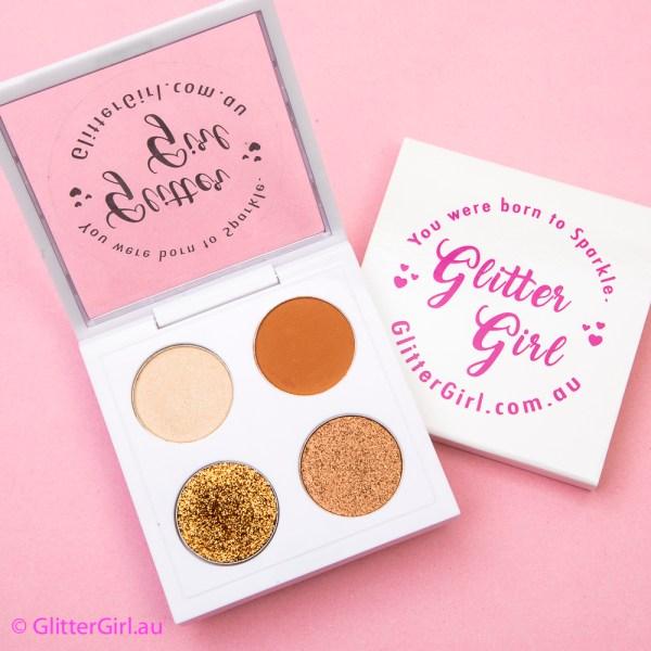 Golden Sands Palette eyeshadow cheer makeup