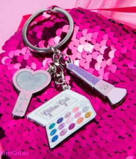 GG Superfan Keychain mini Glitter Girl products