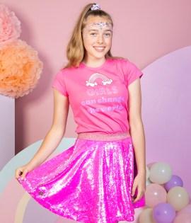 Skirt GG Pink