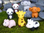 Almost too adorable to use, add a cute animal eraser to your pencil pouch