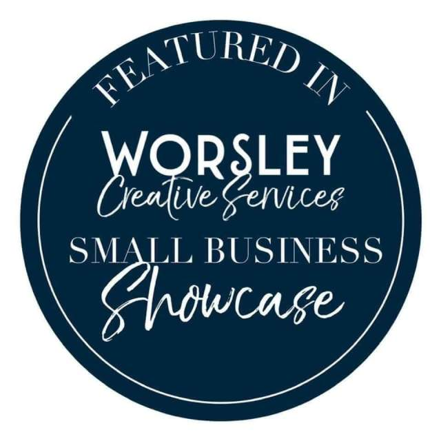 Glittering Copy as featured in Worsley Creative Services Small Business Showcase