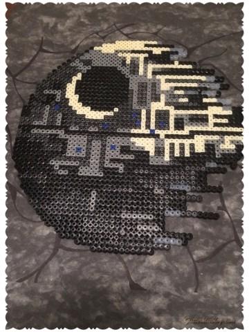 Darth Vader Star Wars Hama Perler Beads By Lauro Espinosa Val