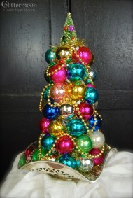 "Christmas Jewels Topiary About 17"" tall $95 *SOLD*"