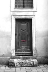 Graffiti Door Redux. Bratislava.