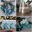 Handmade Beach Themed Christmas Decorations For A Coastal Inspired Christmas