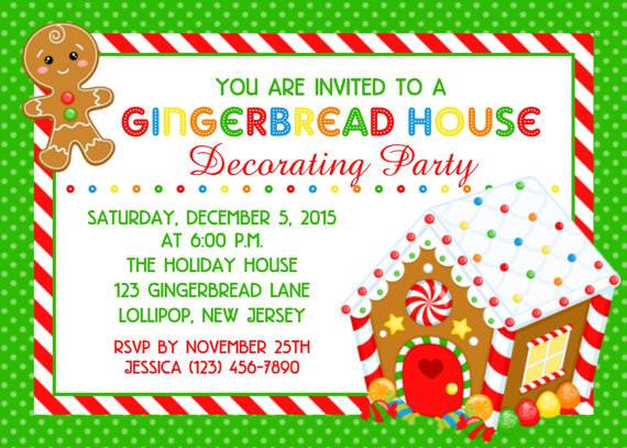 13 December 2016 Holiday Gingerbread House Cookie Decorating Party For The Kids A Giveaway