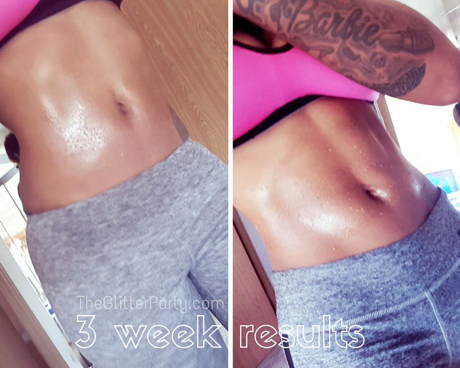 Sweet sweat waist trimmer results