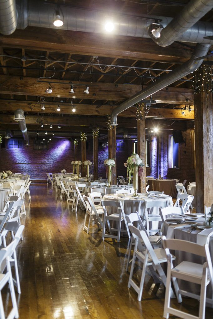 mavris arts center wedding warehouse