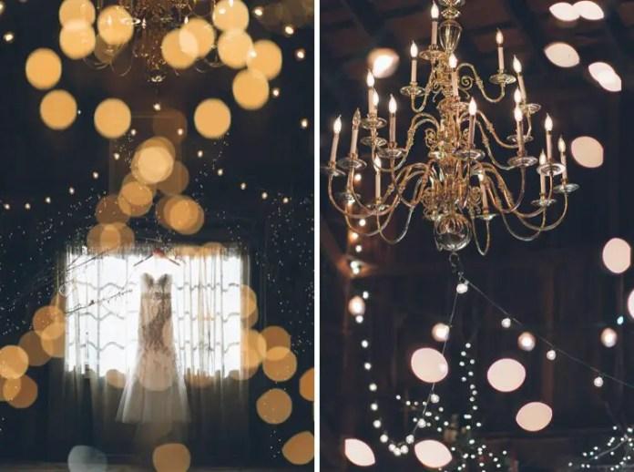 rustic dress chandelier