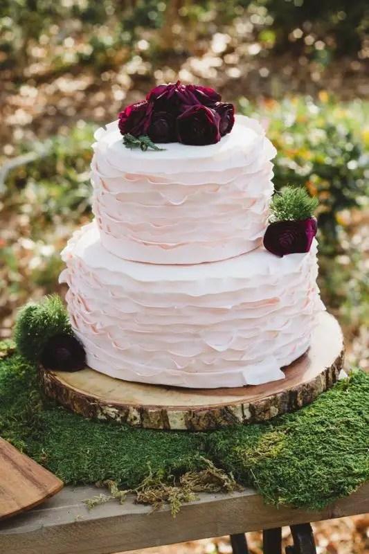 georgia wedding cake cranberry