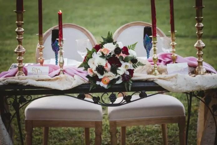 sweetheart tablescape