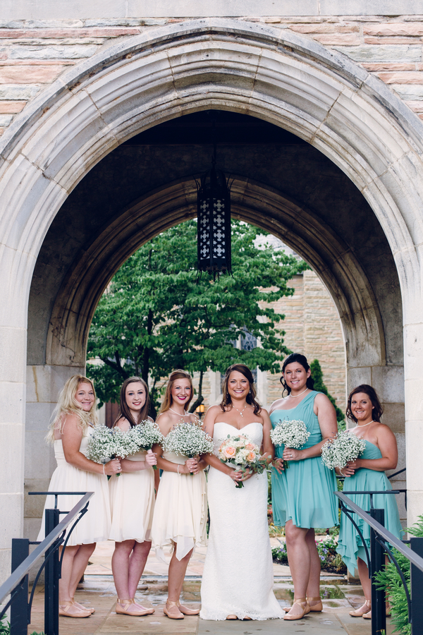 Beach Themed Wedding at Southern Depot in Knoxville, Tennessee