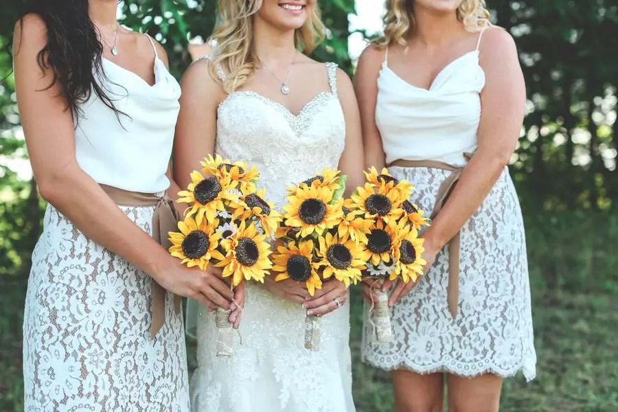 A Sunflower Filled West Virginia Wedding