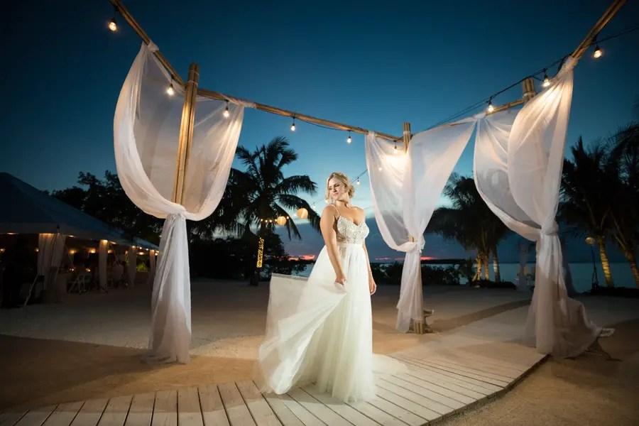 Romantic and Enchanting Key Largo Wedding
