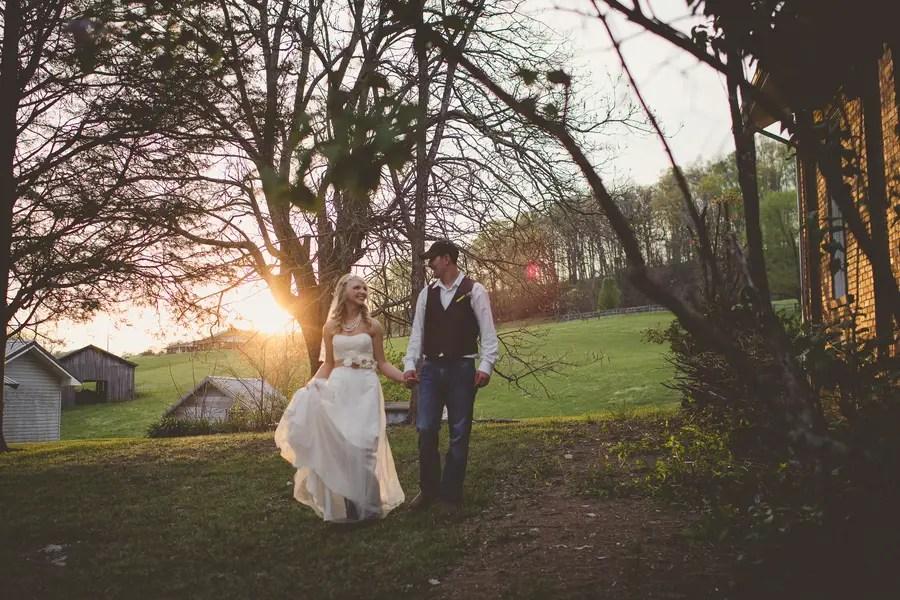 Country Rustic Wedding in Jonesville, Virginia