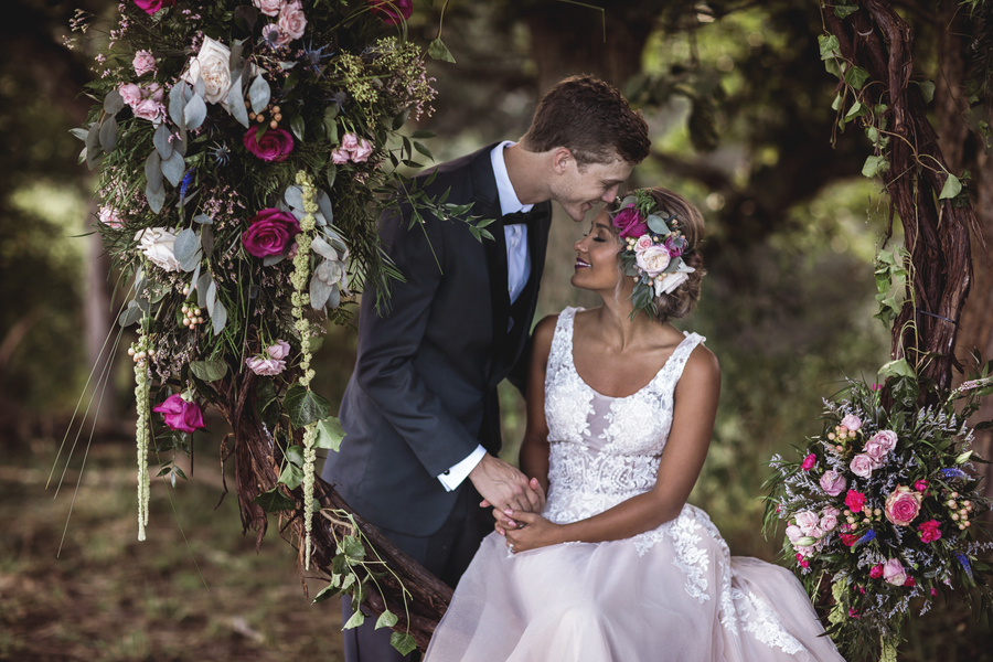 Whimsical Garden Wedding In West Virginia
