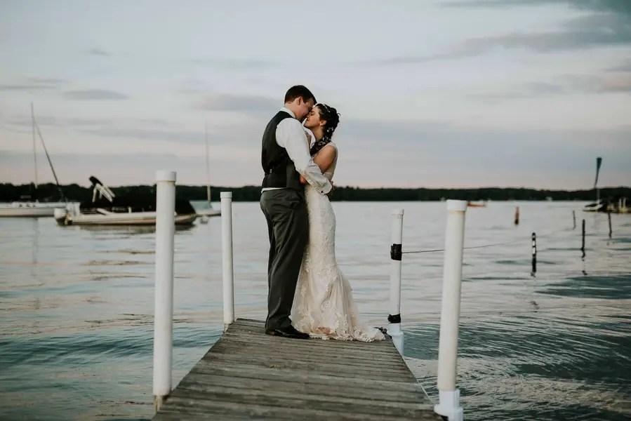 DIY Gull Lake Club Wedding in Michigan