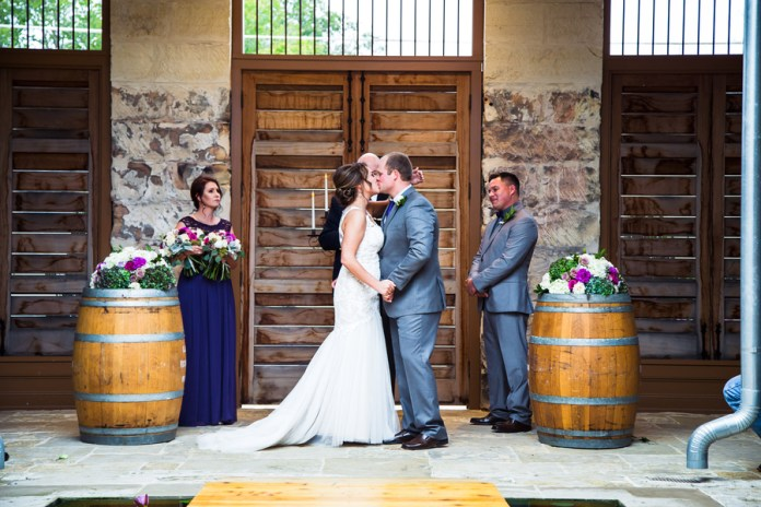 Rustic Wedding At The Ingenhuett on High in Comfort, TX