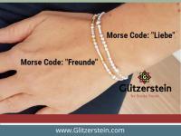 Basic Set Morse Code Armband (inkl. Zubehör/ Gliederkette 2,2 mm)