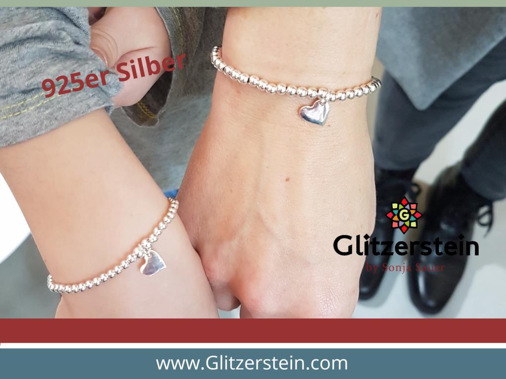 mutter-tochter-silber-armband-herz-925-silber-glitzerstein-muenchen-2