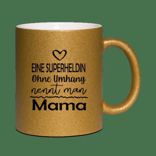 Eine Superheldin ohne Flügel nennt man Mama