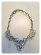 Art deco statement necklace $20