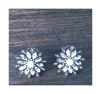 Snowflake earrings $10