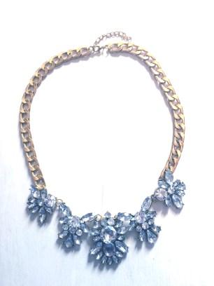 Hard core elegant bling necklace $25