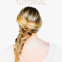 fishtail-braid-tutorial - Once Wed