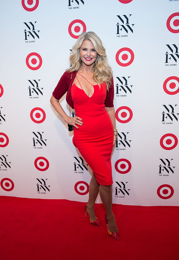 Christie Brinkley attends Target & IMG NYFW Kickoff Event in New York