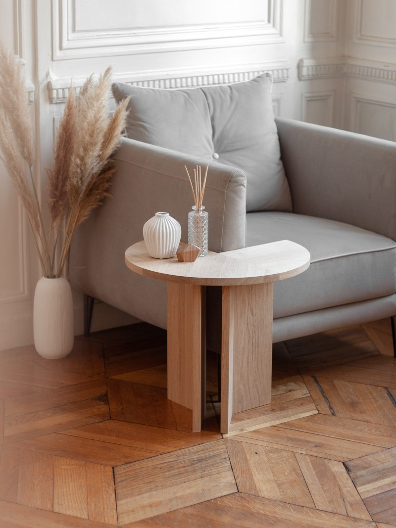 table d'appoint gllu normand