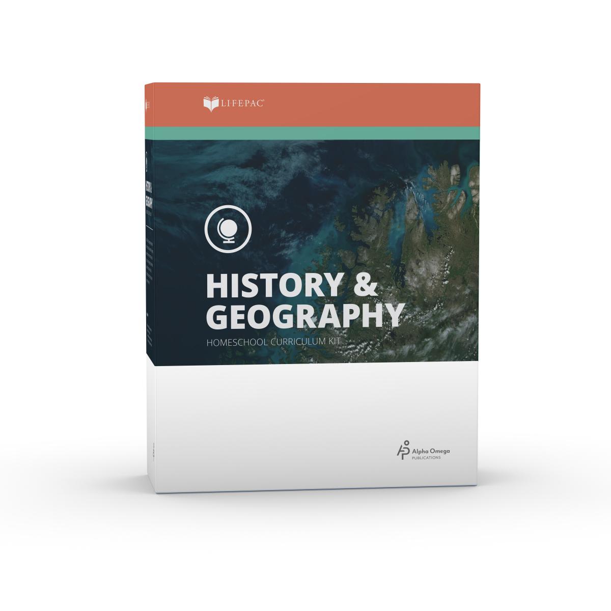 Lifepac 8th Grade History Amp Geography Set
