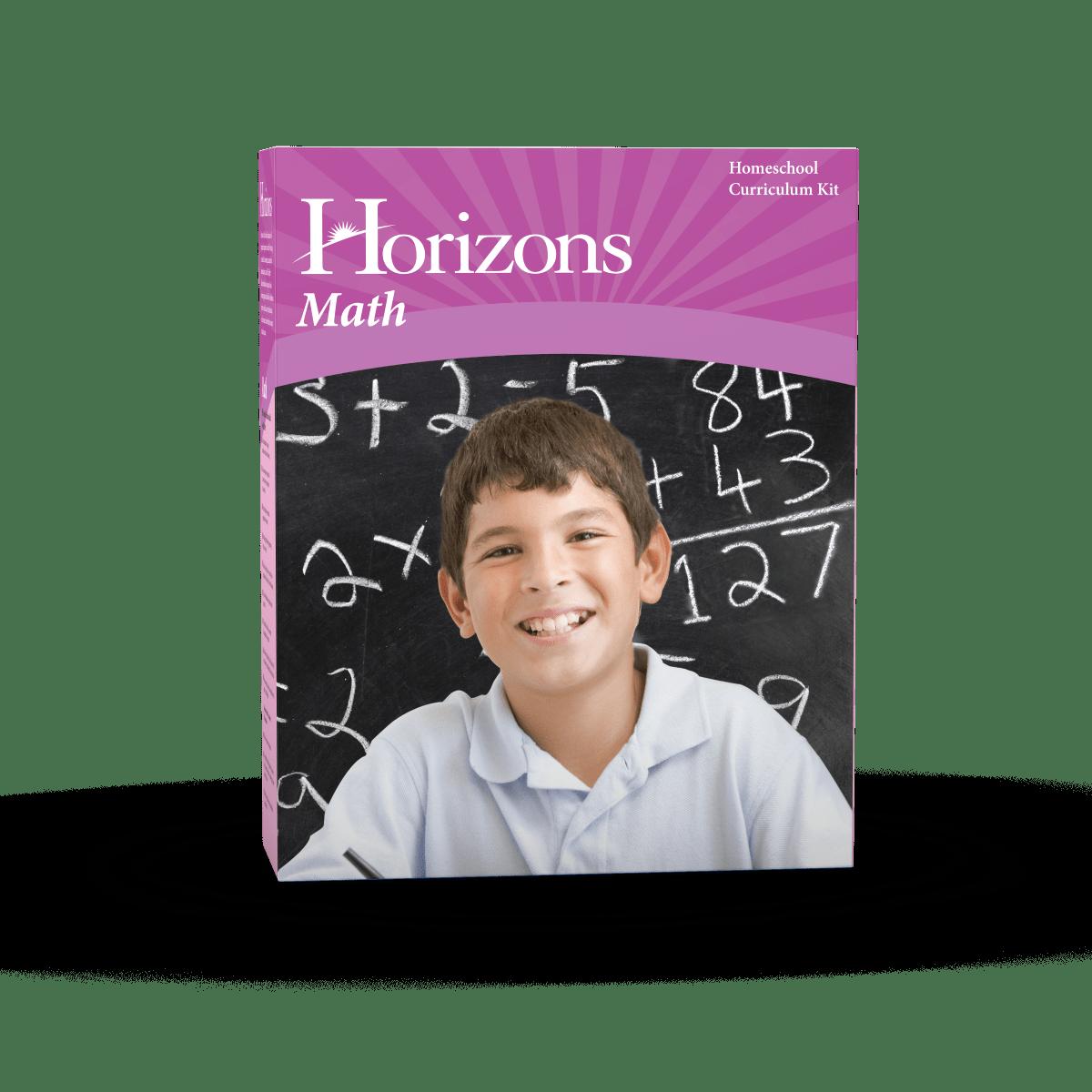Horizons Kindergarten Math Set