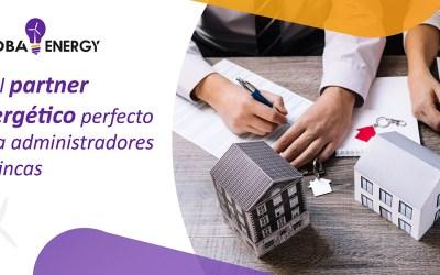 La mejor oferta de luz, gas y eficiencia para comunidades de vecinos: GlobaEnergy, el partner energético perfecto para administradores de fincas