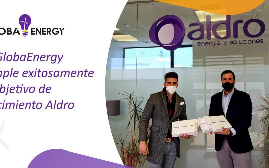 GlobaEnergy cumple exitosamente el objetivo de crecimiento fijado por Aldro Energía para noviembre y diciembre