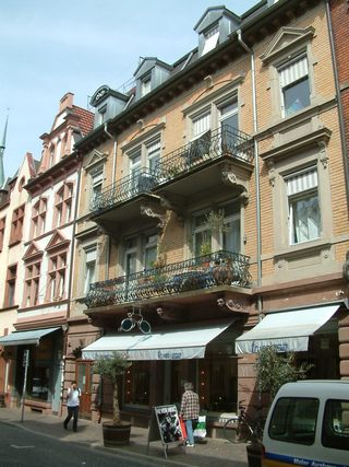 In der Freiburger Altstadt