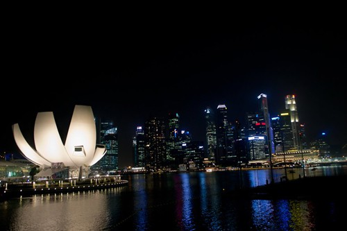 Beautiful Singapore at Night