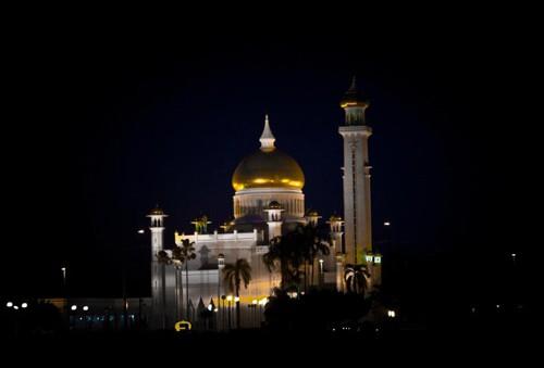 Brunei after dark