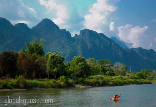 Some places just move at a slower pace... like Vang Vieng, Laos