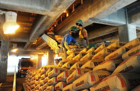 GN/Istimewa Persaingan industri semen di Indonesia semakin lama semakin ketat.