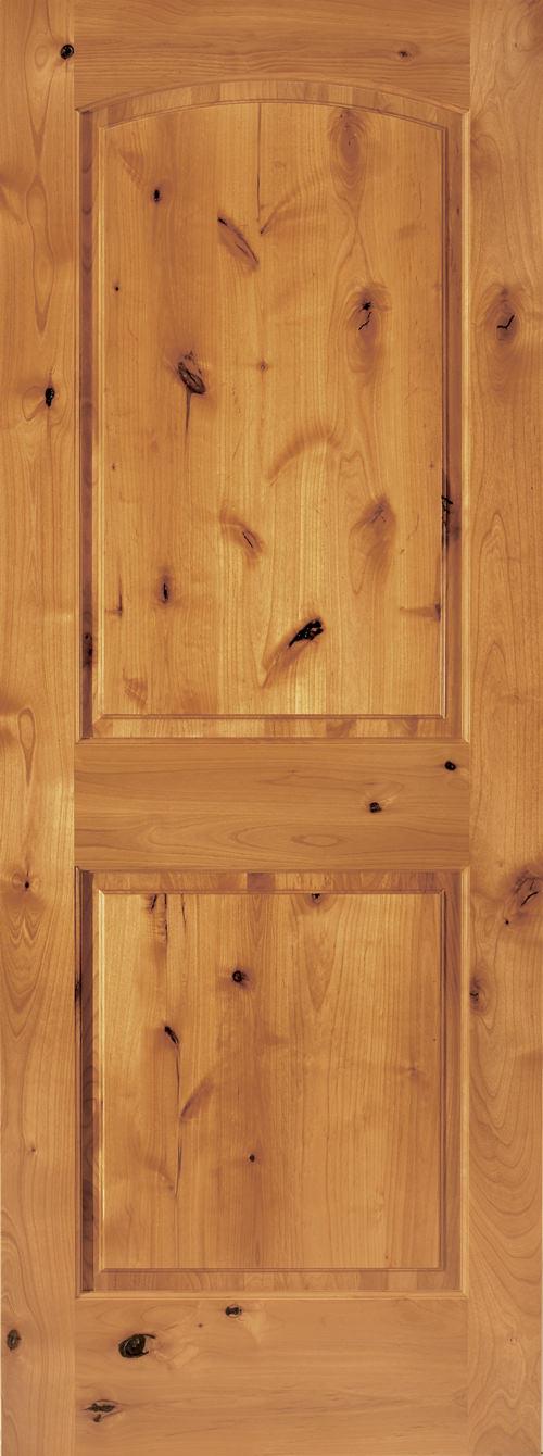 Knotty Alder Doors Global Pointe