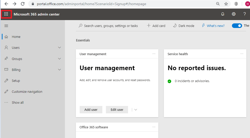 Microsoft Teams - Office 365 Admin Center