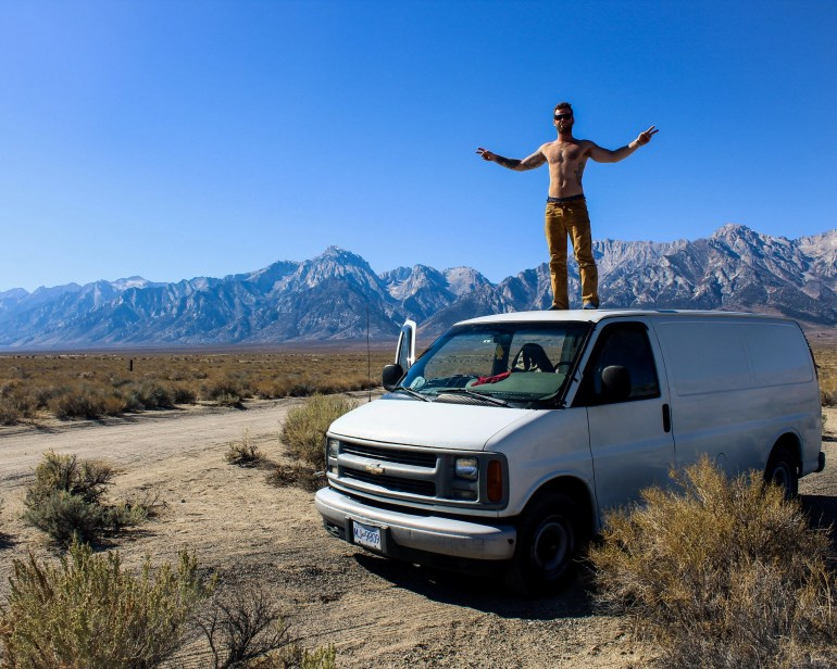 simple van conversion how to guide lone pine california