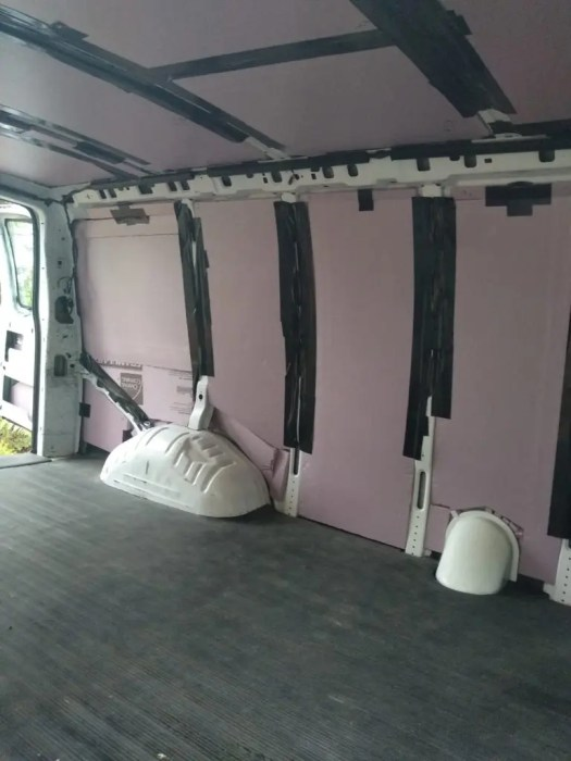 van conversion how to guide insulation